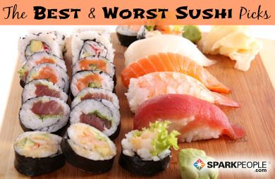 The Healthiest Sushi Rolls Healthy Sushi Healthy Sushi Rolls Low Calorie Sushi