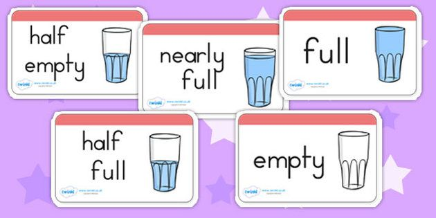 Australia - Capacity Word Cards | Eyfs maths | Pinterest