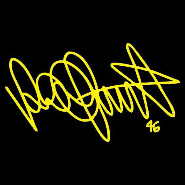 Rossi S Signature Vr46 Valentino Rossi Valentino Rossi Logo