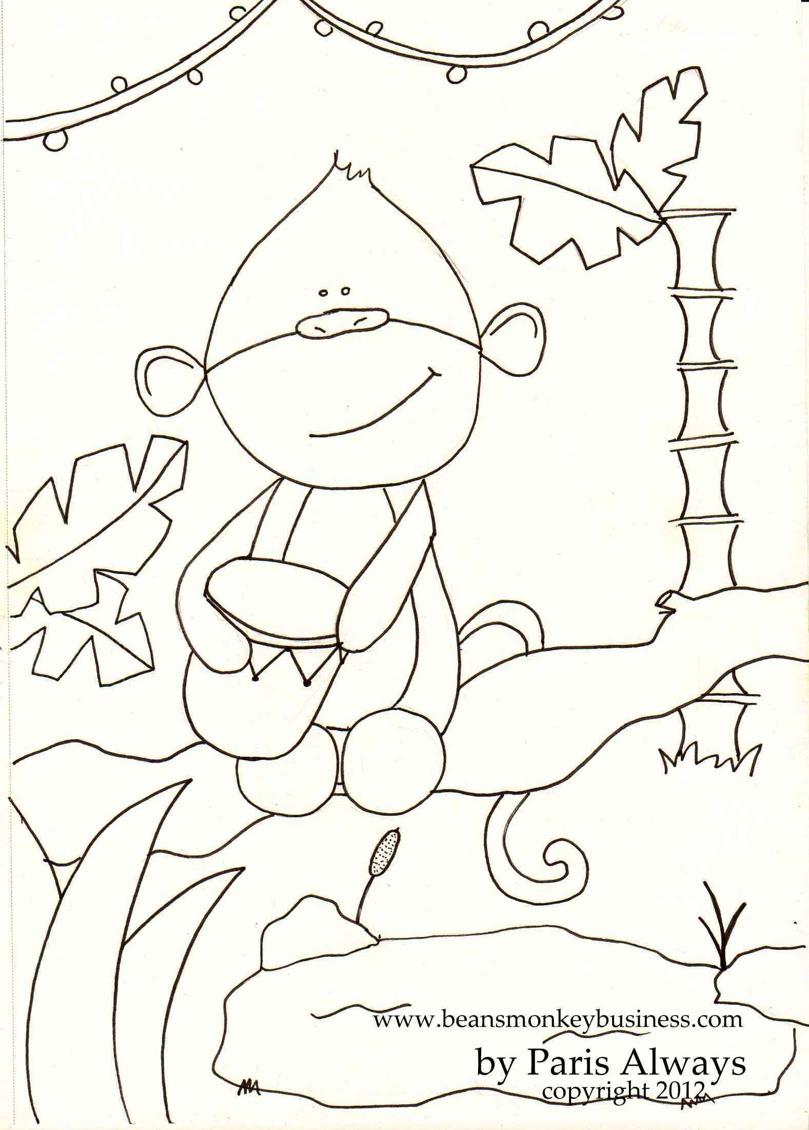 Beans Coloring Pages Download [ 2201 x 1577 Pixel ]