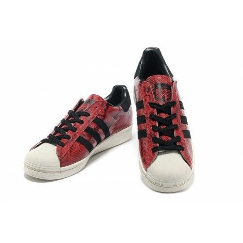adidas originals superstar print roze