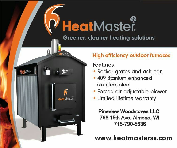 Why burn money when you could burn wood? Heat your new dream home ...