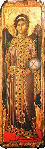 Studio icona Arcangelo Gabriele dal Monastero di Decani (1340 circa) - Giuliano Melzi - Álbumes web de Picasa