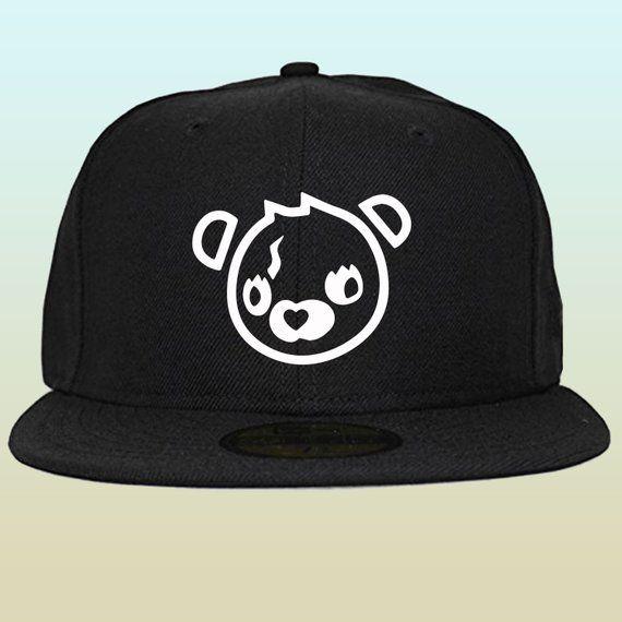Fortnite Cuddle Team Bear Head Snapback Hat FREE SHIPPING