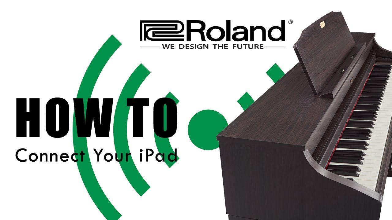 how to connect an ipad to your roland piano 2015 wifi pianoapps ipad roland digitalpianos. Black Bedroom Furniture Sets. Home Design Ideas