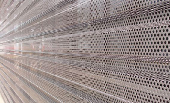 Hendrick Architectural Products Corrugated Cladding Corrugated Perforated Sheets Corrugated Metal Wall Metal Panels Perforated Metal Panel