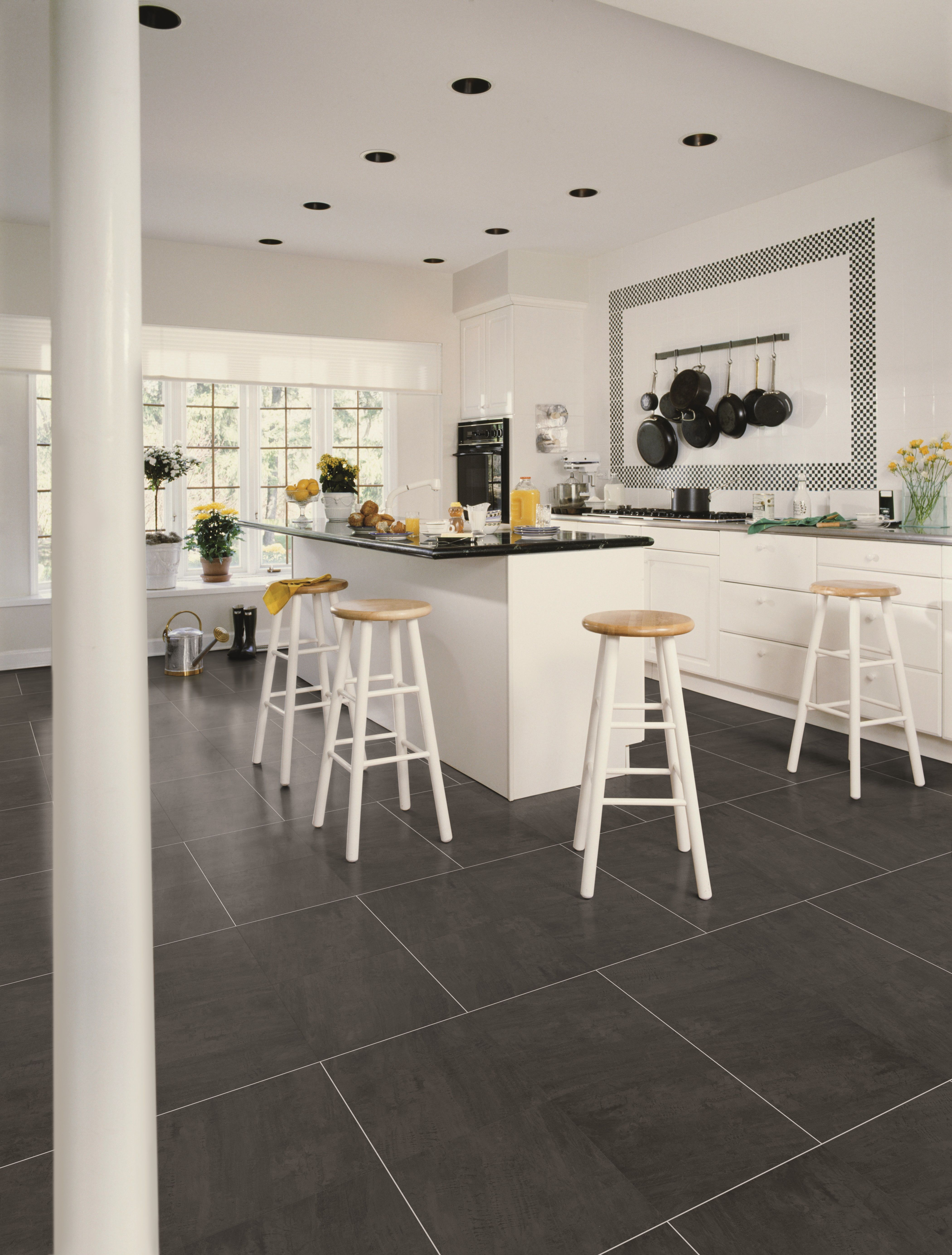 fusion flooring 1079 black riven slate - modern and striking