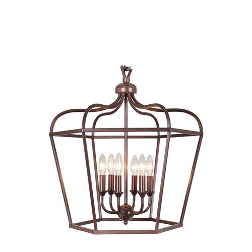 Found it at Wayfair - Cage 6 Light Pendant