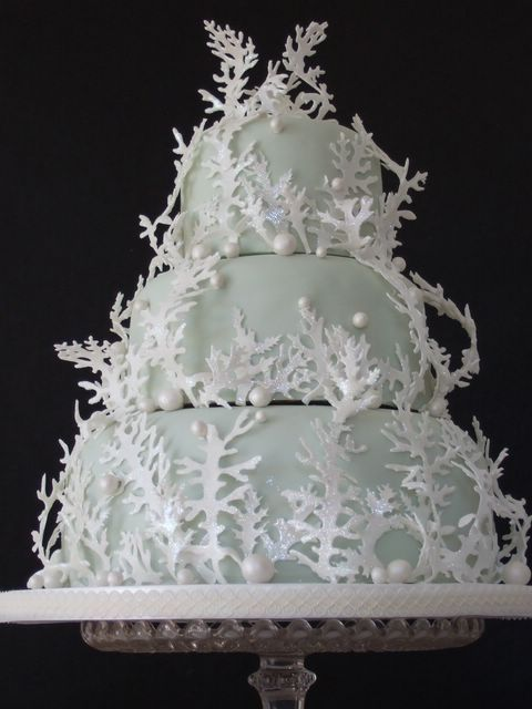 Inspired By Our Winter Wonderland Wedding Cake This 3 Tier Was Created For A Corporate Event In The Upper East Side New York City