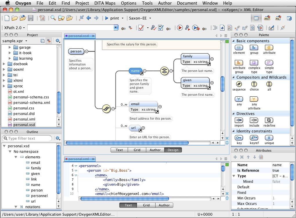 Oxygen XML Editor 19 1 2018022209 for Mac 破解版 – 基于Java