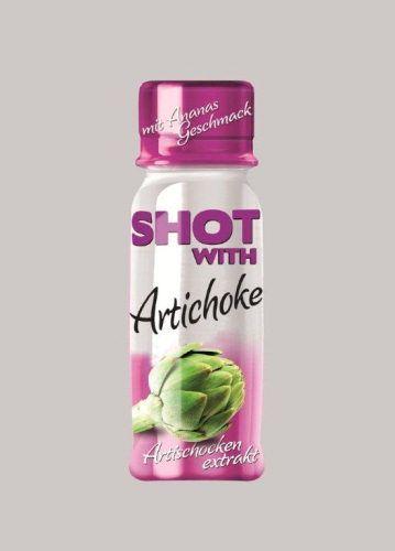 Shot with Artichoke. Die Nahrungsergänzung aus Artischockenherzen! Bereits über 4 Millionen Flaschen in den USA und Europa verkauft!