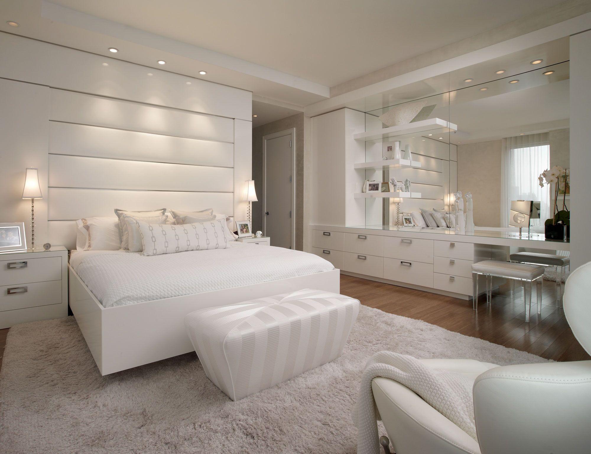 Elegant bedroom interior design all white  schlafzimmer  pinterest  dream rooms bedrooms and