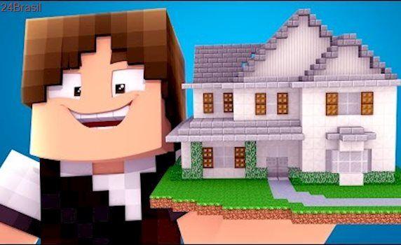 Minecraft Casa Do Jazzghost Youtubers Gigantes 02