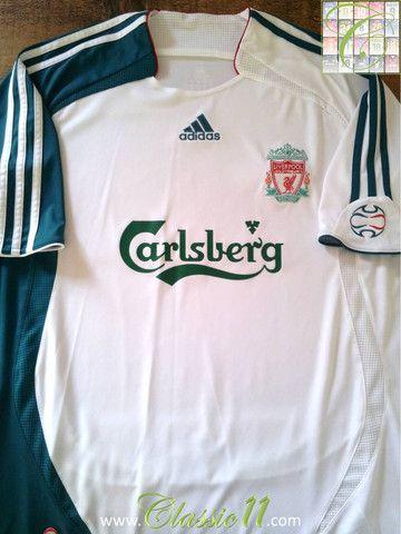 5cba2988dcb Relive Liverpool s 2006 2007 season with this vintage Adidas Liverpool 3rd  kit football shirt.