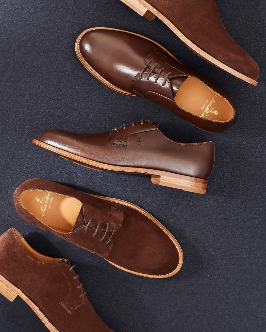 Suede Lace-Up Shoes | Brooks Brothers