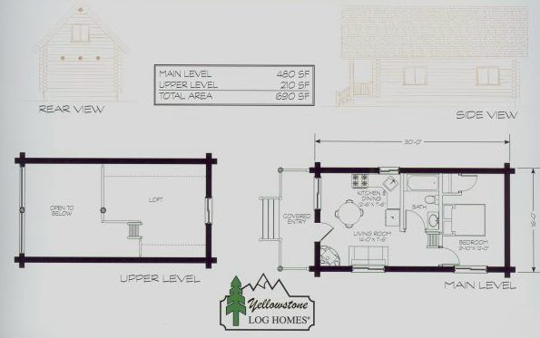 1bedroom with loft Cabin Pinterest Lofts Cabin and Bedrooms