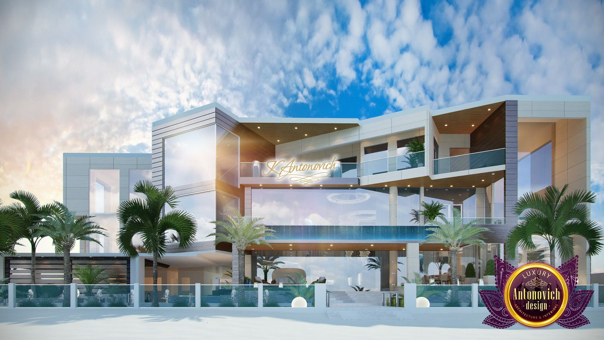 Dubai interior design gallery by luxury antonovich design palm jumeirah modern exterior