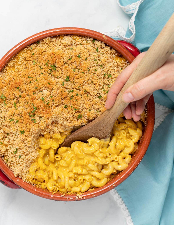 Vegan Mac And Cheese Recipe In 2020 Vegan Mac And Cheese Mac And Cheese Food Processor Recipes