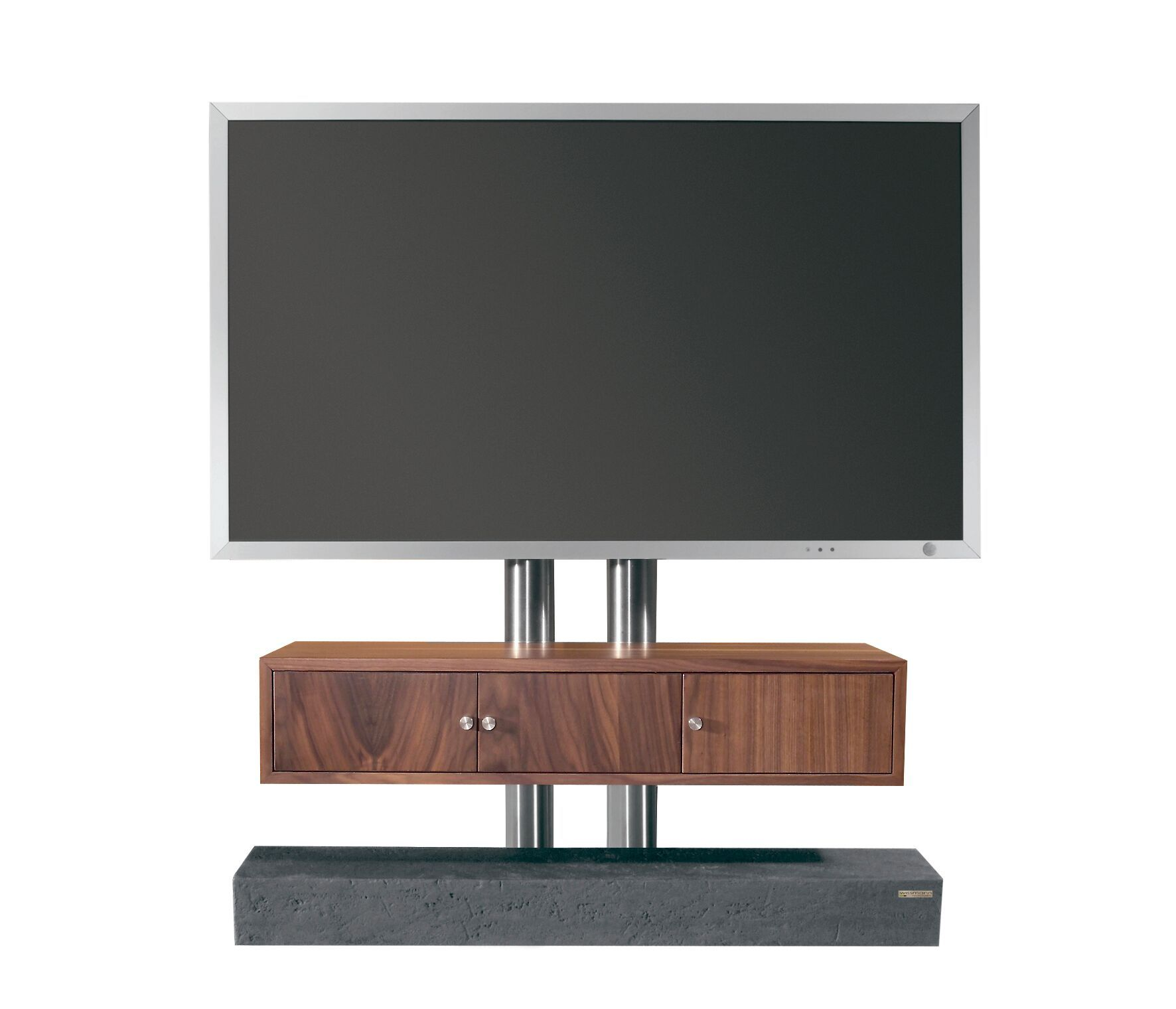 TV Stand / Ständer Concealed cable management. Integrated