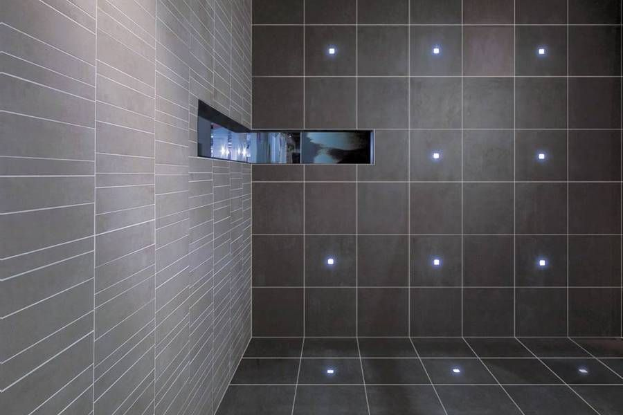 Awesome Led Lights Embedded In Tile Because I M Building A