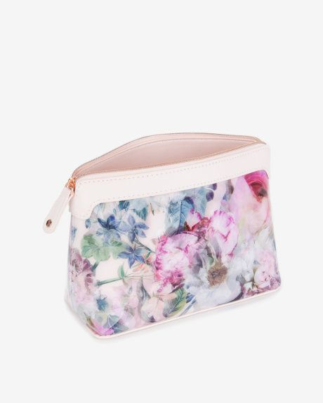 9d12233bd807 Large pure peony cosmetic bag - Dusky Pink