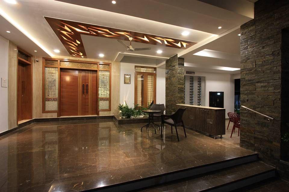 Pleasant Veranda In The Front Has A Decorative Cut Out Wooden False Ceiling Largest Home Design Picture Inspirations Pitcheantrous