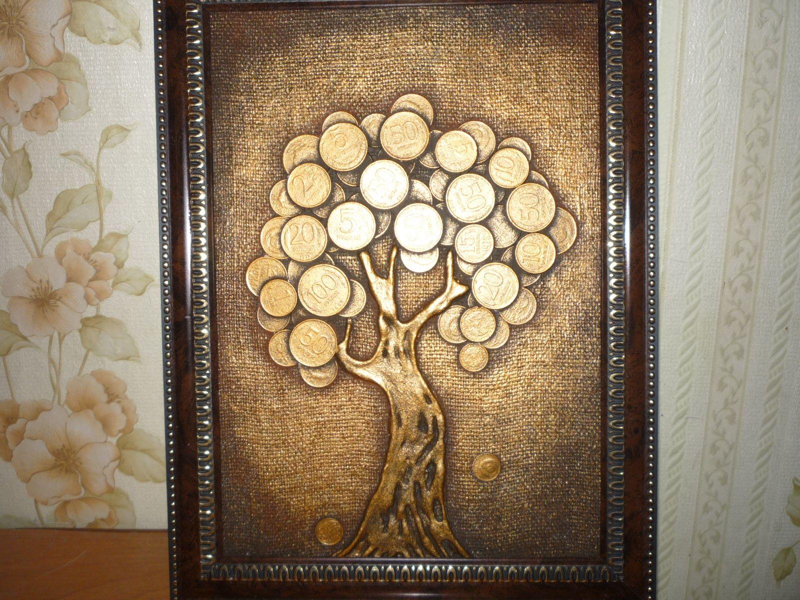 Картинки дерево с монетами