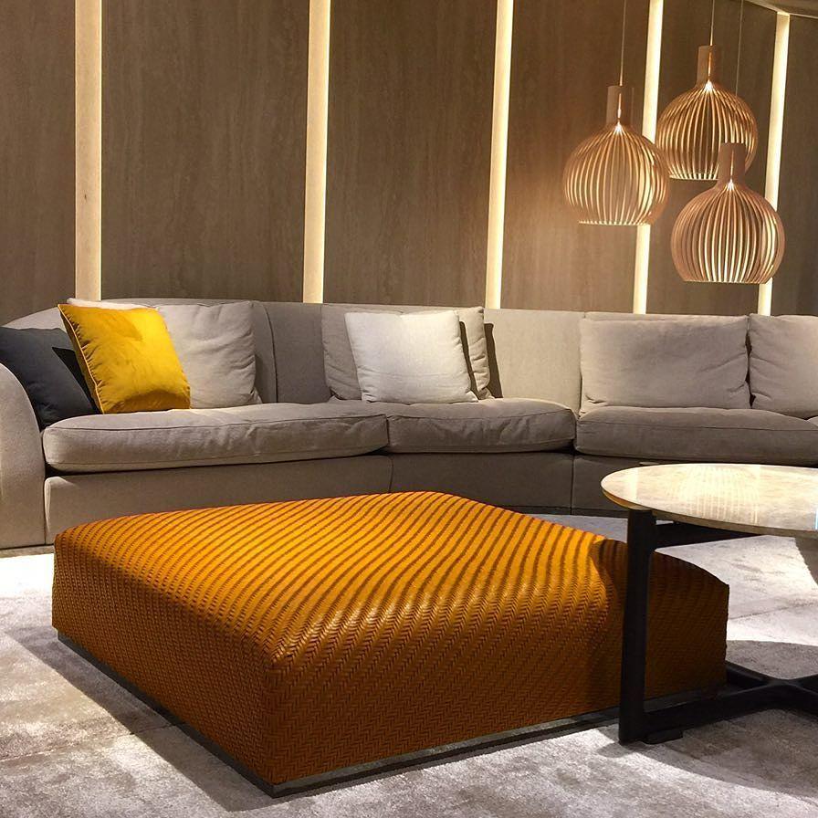 Um luxo a harmonia das cores na flexform/ #milão # ... on Luxo Living Outdoor id=11427