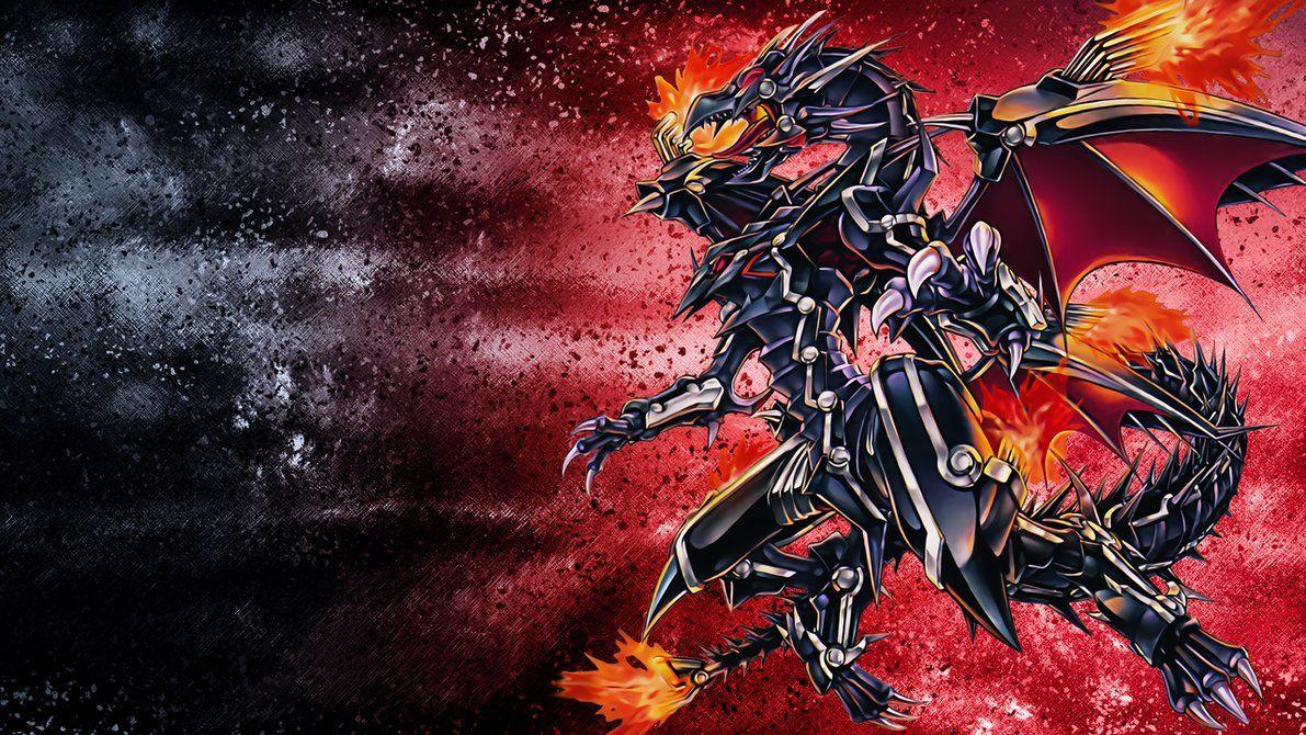 Red Eyes Flare Metal Dragon Wallpaper Por Edgecution Black Dragon Red Eyes Eyes Wallpaper