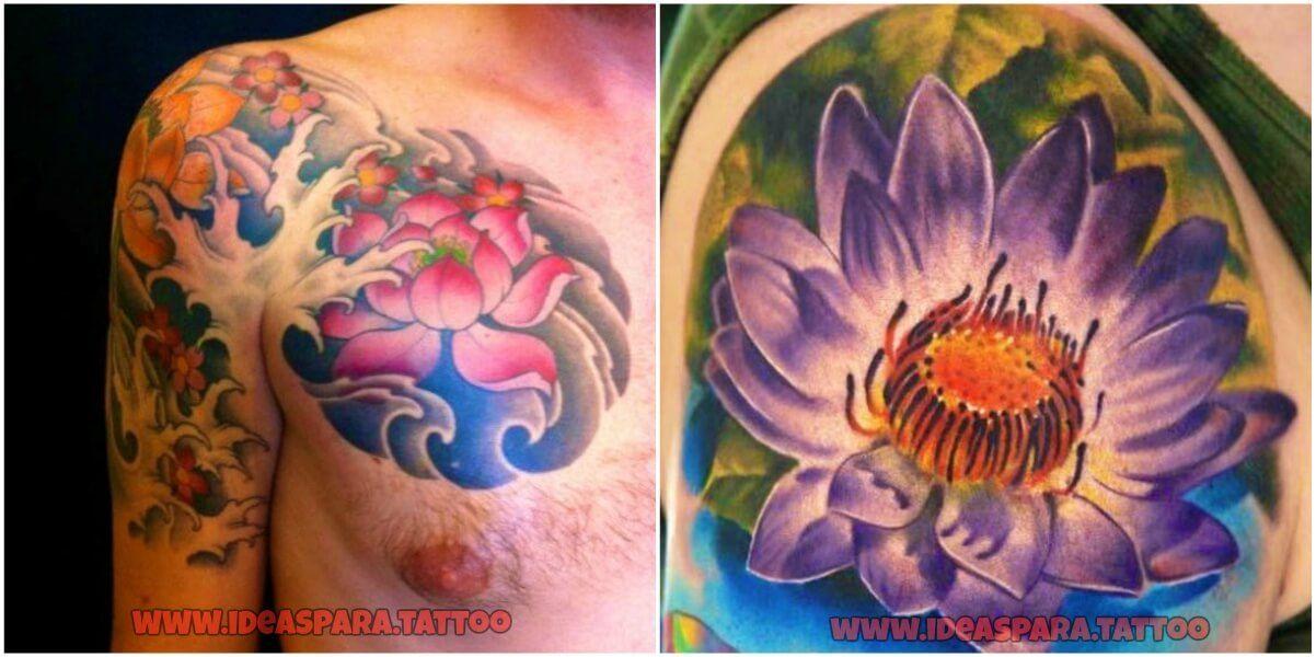 Tatuajes De Flor De Loto Para Hombres Las Mejores Ideas Diseños Y