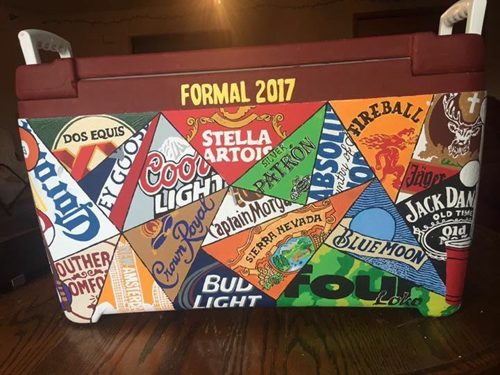 Pinterest Caitlinhellmers Formal Cooler Ideas Sorority Coolers Fraternity Coolers