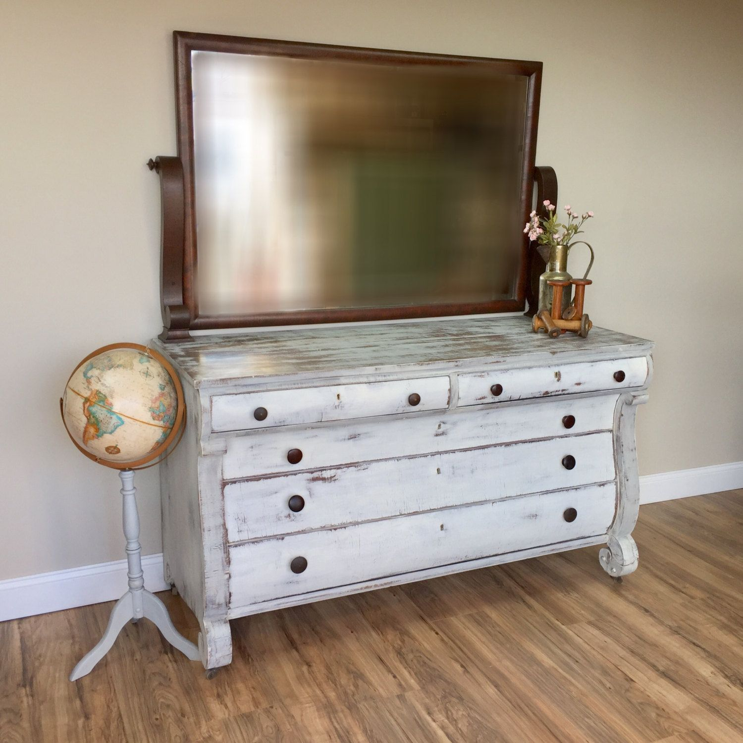 Add A Sense Of History To Your Interior With This Gorgeous American Empire Long Dresser