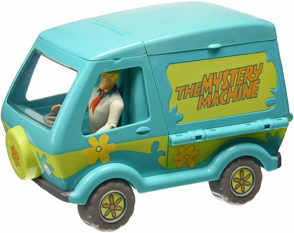 Ebay Sponsored 1158866 Giochi Preziosi Scooby Doo Modello Auto Mystery Machine Con Personaggi Power Rangers Mystery Wii U