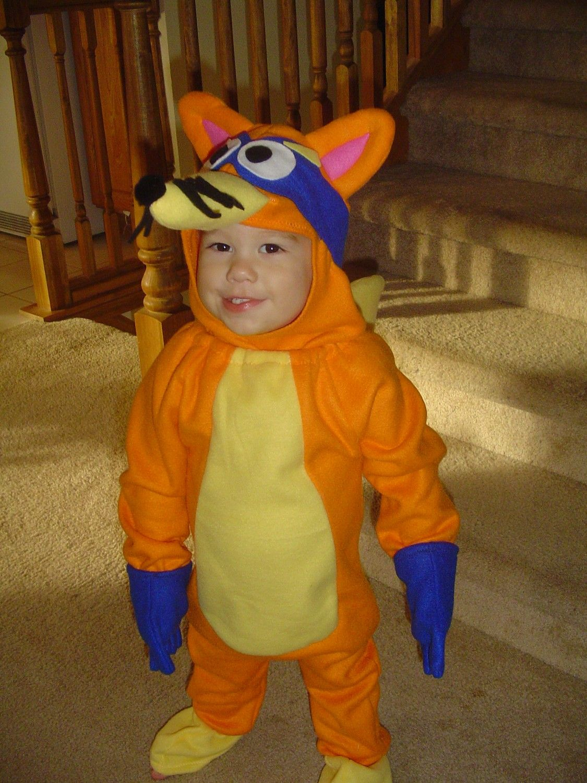 NEW custom FOX halloween COSTUME Dora swiper goodie bag 6m to 5 U ...