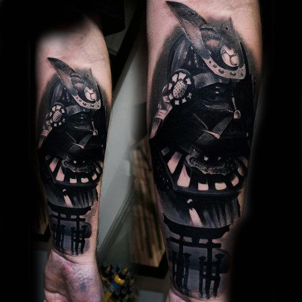 Incredible Forearm Sleeve For Men Of Japanese Samuari   Places to ...