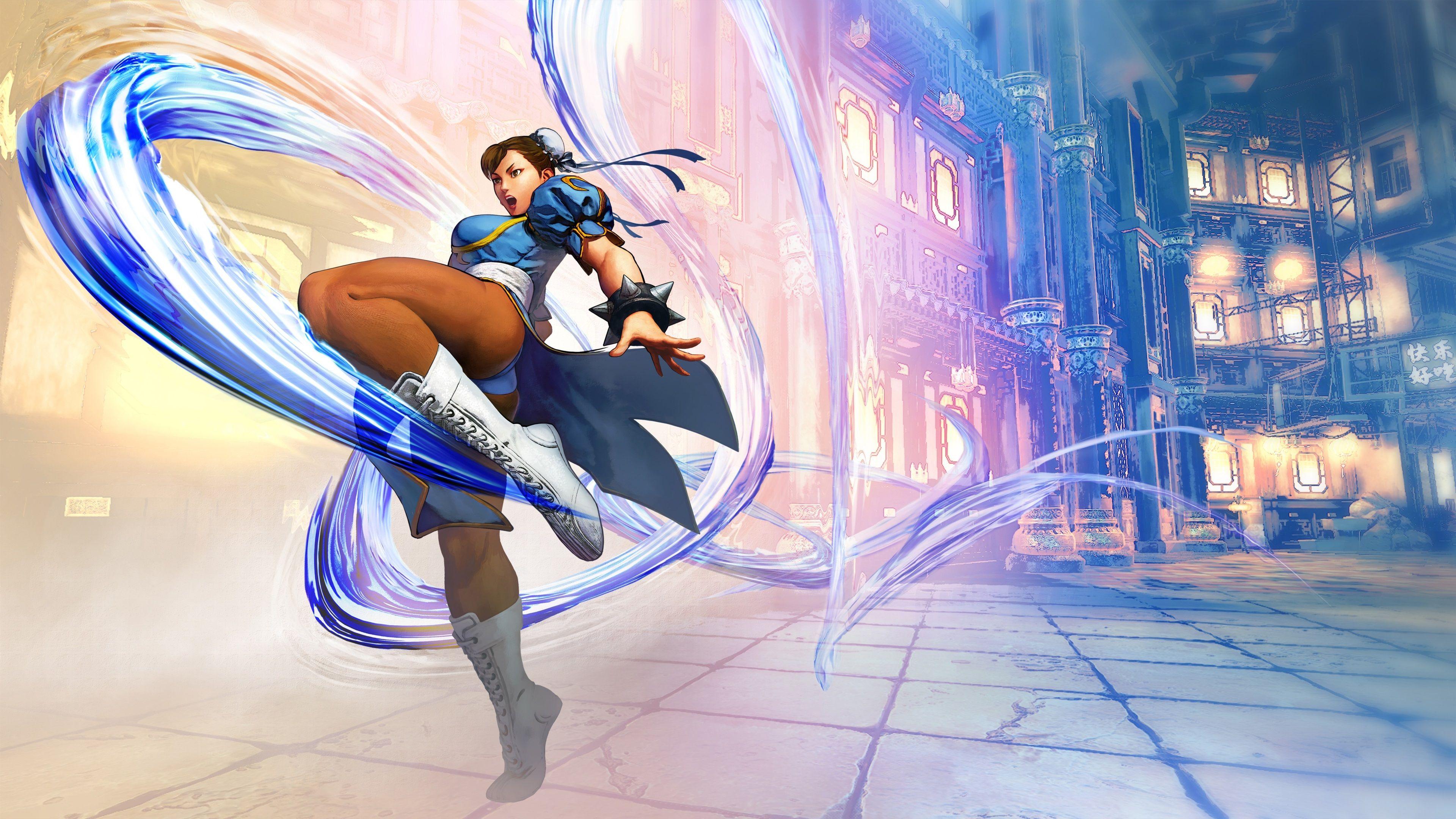 3840x2160 Chun Li 4k Wallpaper Image Hd Street Fighter