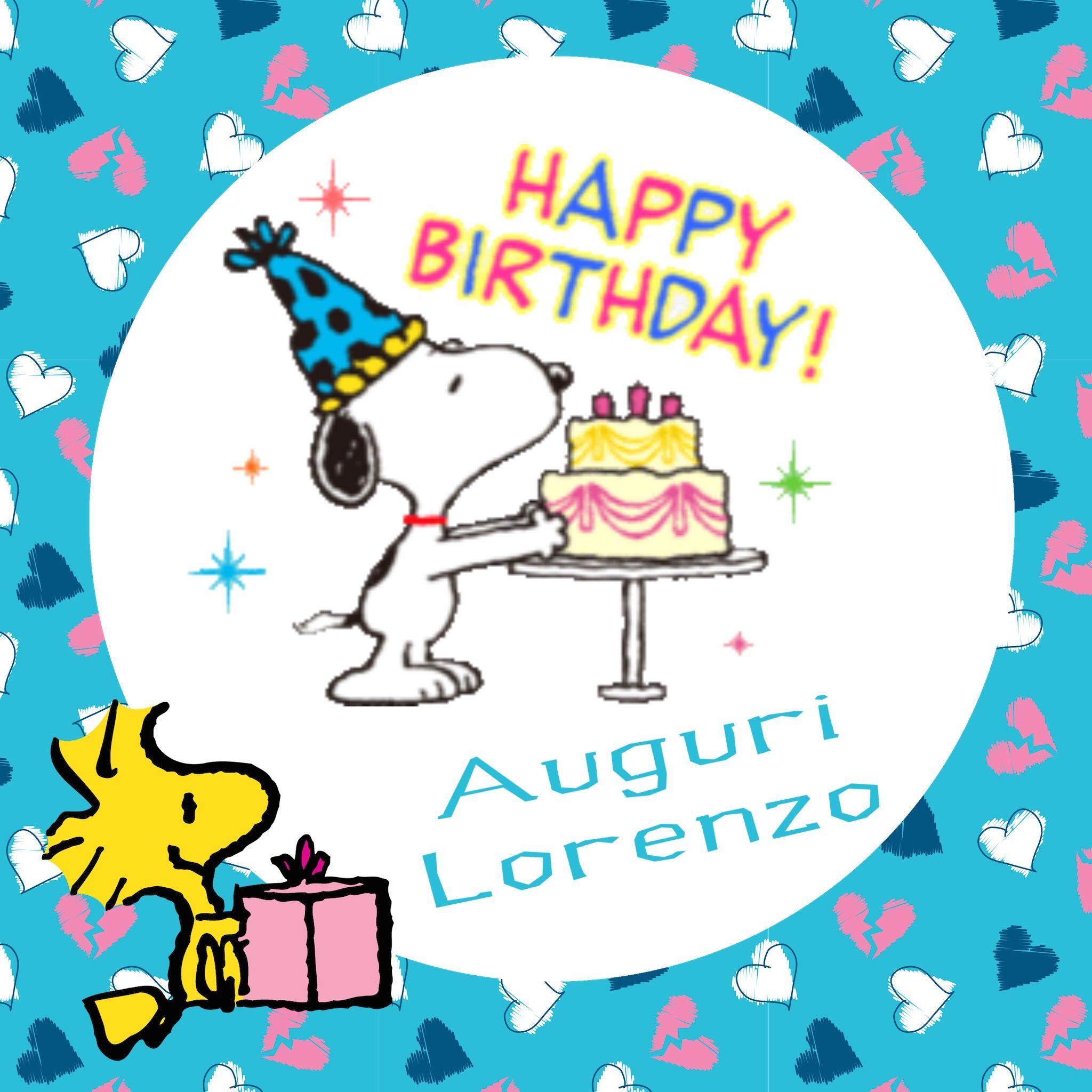 Buon compleanno Lorenzo | Compleanni Onomastici e Anniversari