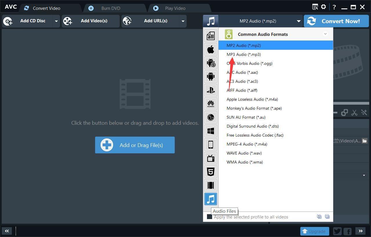 Any Video Converter 4 In 2020 Converter Free Video Converter Online Converter