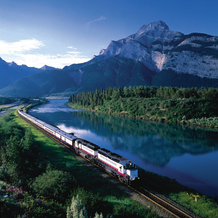 A train ride to Banff, Canada – looks like a breathtaking experience. Definitely on my bucket list.