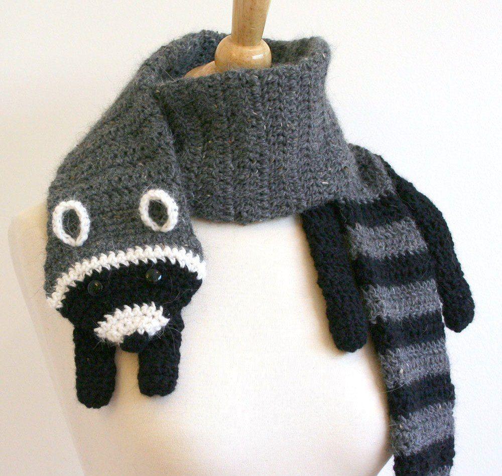 Bufanda Mapache ::hand Knitted::