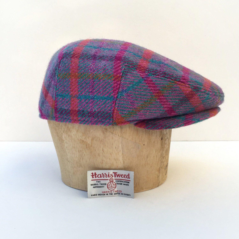 85ffb55ba Ivy Driver Derby Flat Cap Hat Bespoke CUSTOM MADE MacLeod Harris ...