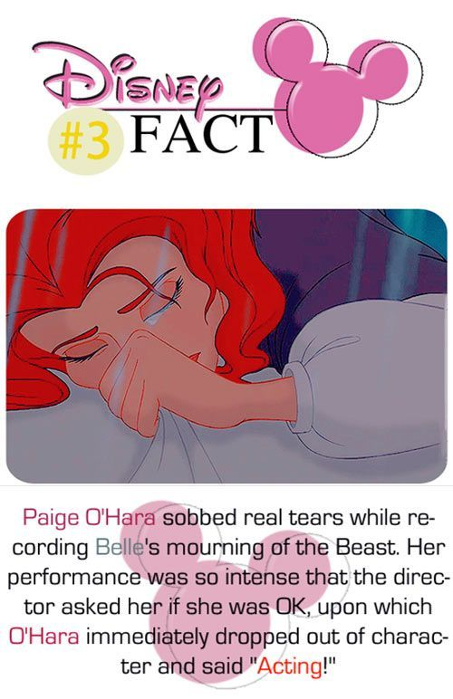 One of the many reasons Beauty and the Beast was an amazing movie - good acting