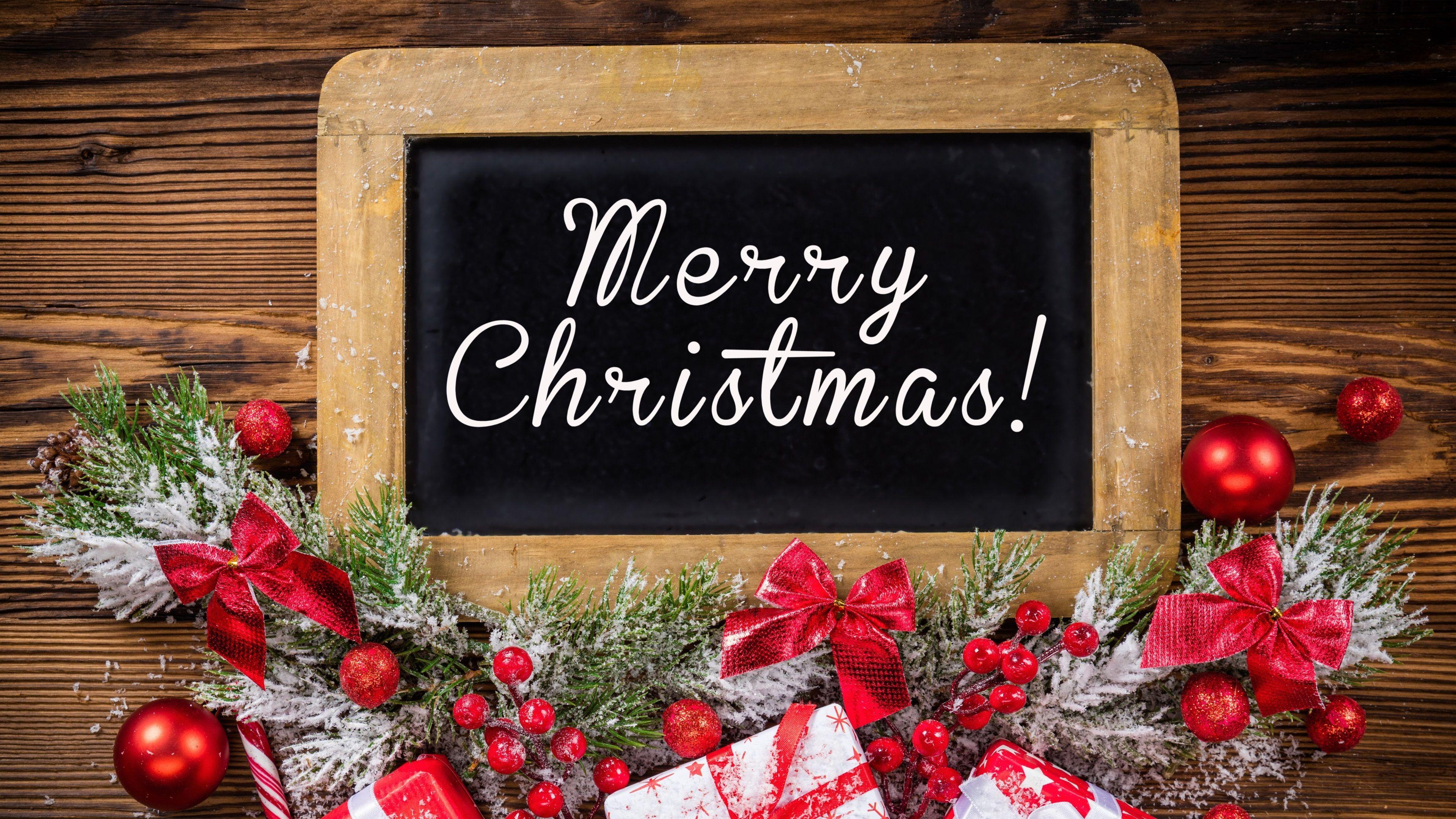 3840x2160 merry christmas 4k desktop wallpaper high