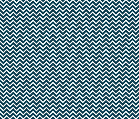 navy chevron fabric by amybethunephotography on Spoonflower - custom fabric