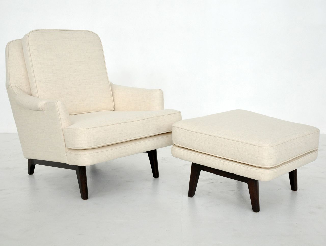 Dunbar Janus Lounge Chair With Ottoman Edward Wormley