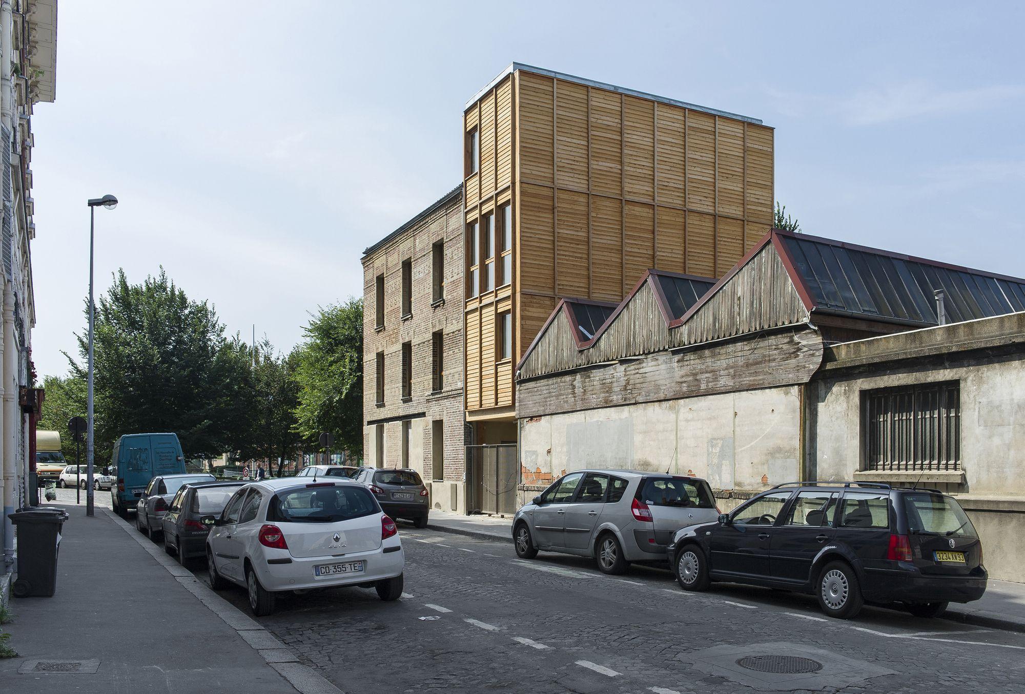 Gallery Of Au Bon Coin Ramdam Architectes 20 Galerias Arquitectura Habilitacion