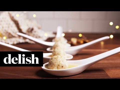 Matzoh Ball Shooters | Delish - YouTube
