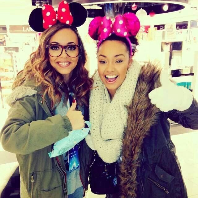 Jade and Leigh in Disney Land!!!
