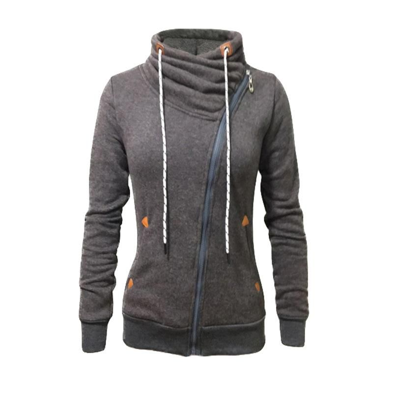 1ce18a493d2609 Hoodies Sports & Outdoors GenericWomen Casual Hoodies Warm Sweatshirts Zip  Front Jackets Coat