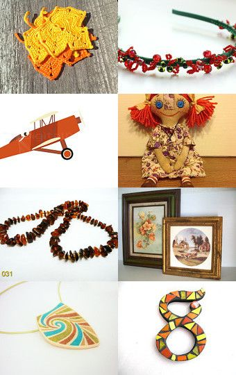 Fall collor gift,   S 12 by Millie Ol on Etsy--Pinned with TreasuryPin.com